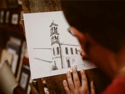Urban Sketching Buildings