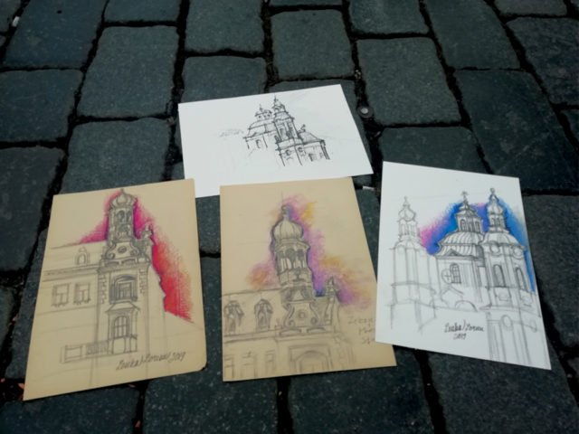 Urban Sketching Examples